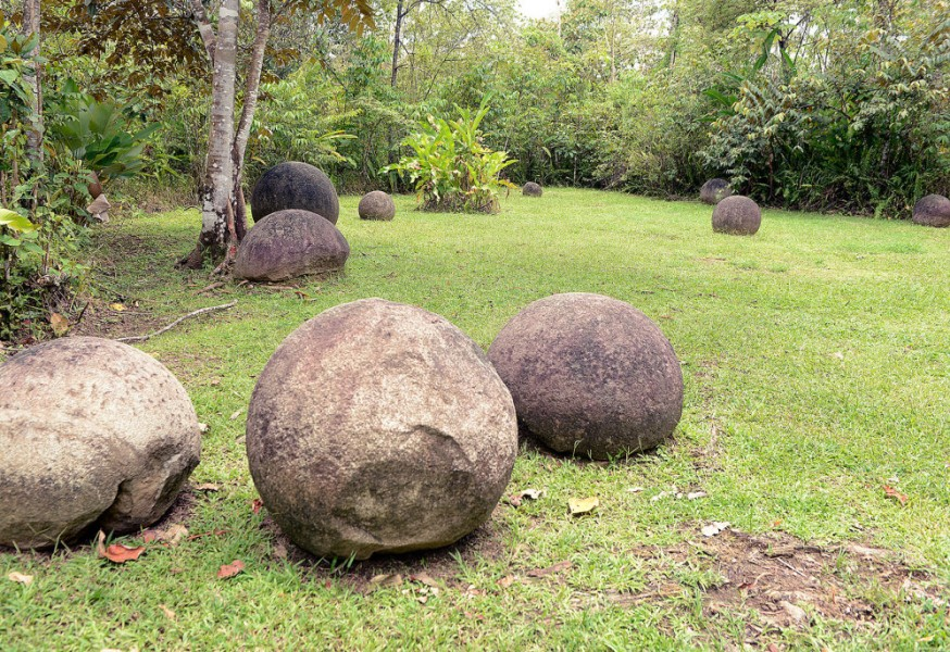 Pre Columbian stone spheres costa rica