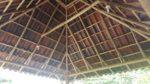 inside view of casa lapas rancho roof