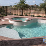Rough Tilework and Shallow Pool