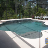 Fun Shaped Pool Perfect for Entertaining