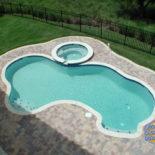 Aerial View of Inground Pool