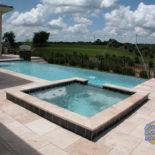Second View of Custom Pool