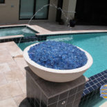 Crystal Blue Water Feature