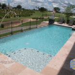Rectangular Pool with Accents