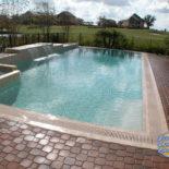 Large Rectangular Pool Flat Edge