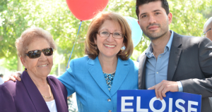 Howie Klein's Blue Americas PAC wants Eloise Reyes to get the Democratic Party's nomination instead of Aguilar.