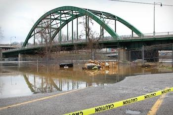 Elk River in West Virginia, the site of the recent chemical spill.
