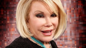 Once again Joan River is in danger of being kicked out of the Writers Guild.