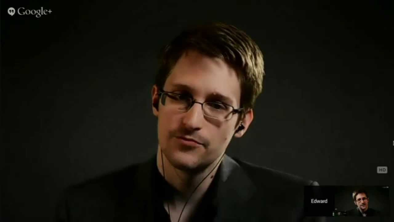 Edward Snowden interviewed by Lawrence Lessig