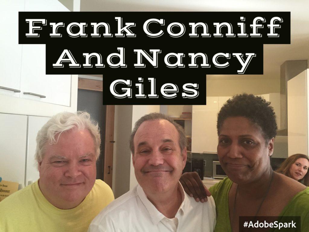 Frank Conniff, David Feldman, Nancy Giles