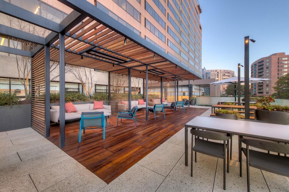 1550 Crystal Drive   Exterior Area   Arlington, VA   Multifamily   Interior Designers