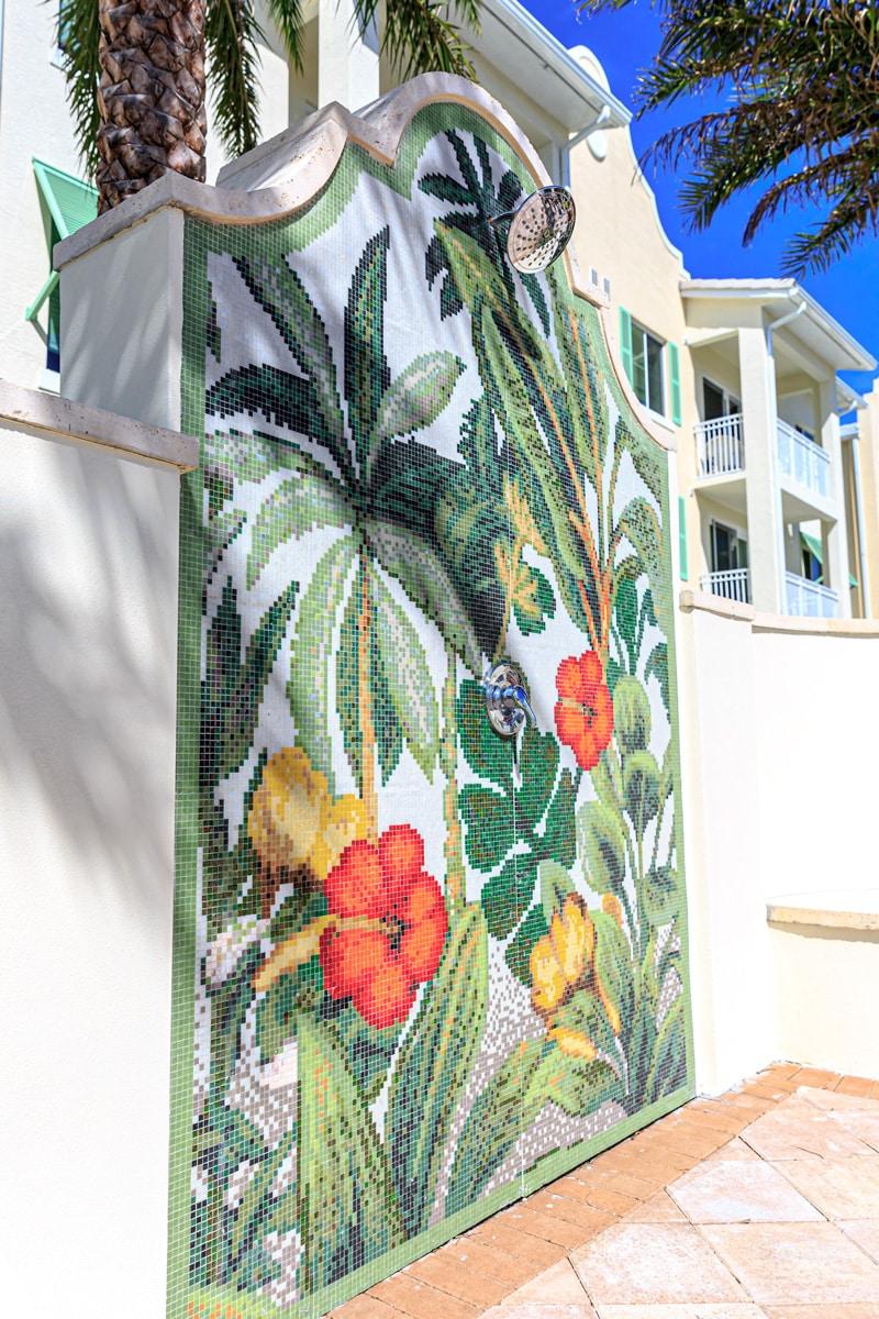 Water Tower Commons Ph I | Exterior Mural | Lantana, FL | Multifamily | Interior Designers