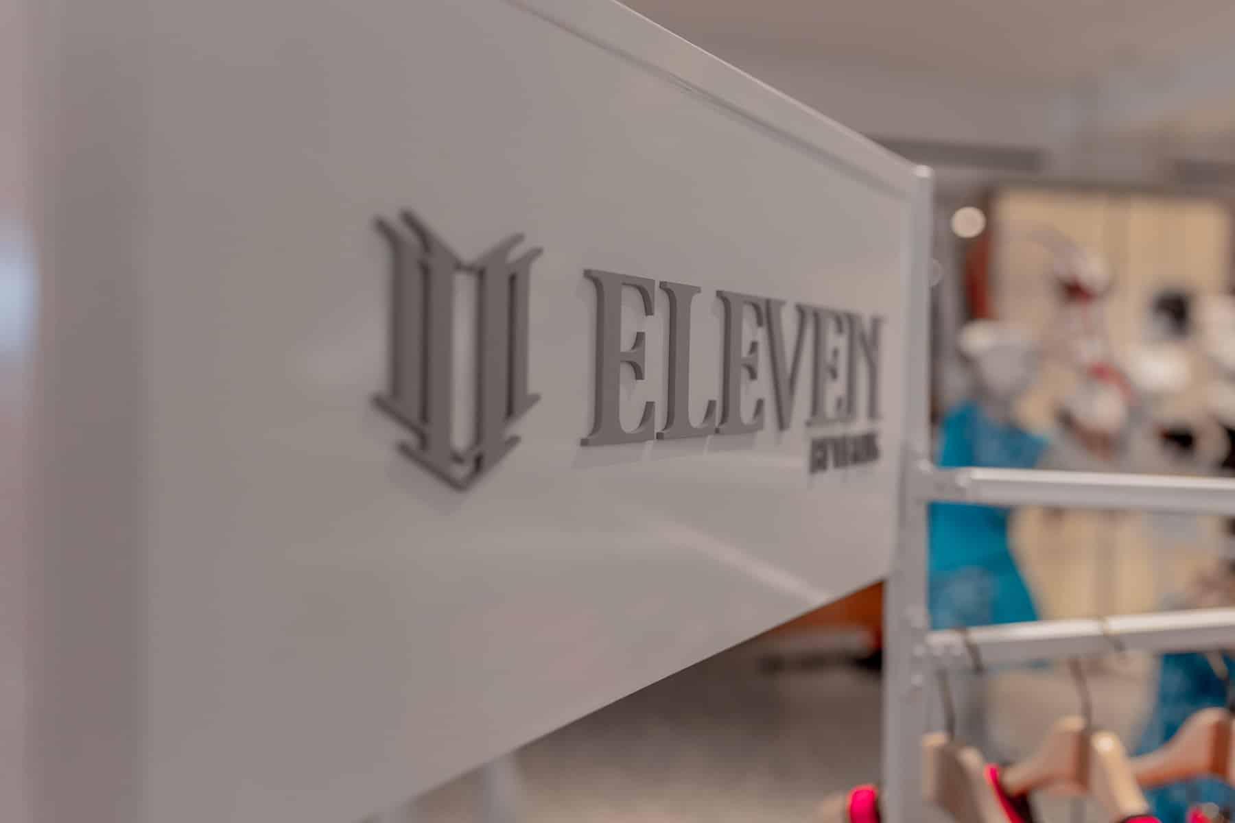Logo | Selfridges EleVen Pop-up | London UK | Commercial Interior Design
