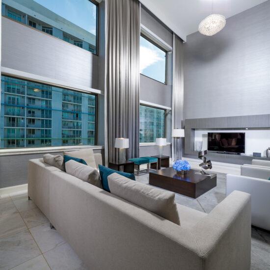 Intercontinental Hotel | Room 2 | Miami, FL | Hospitality | Interior Designers