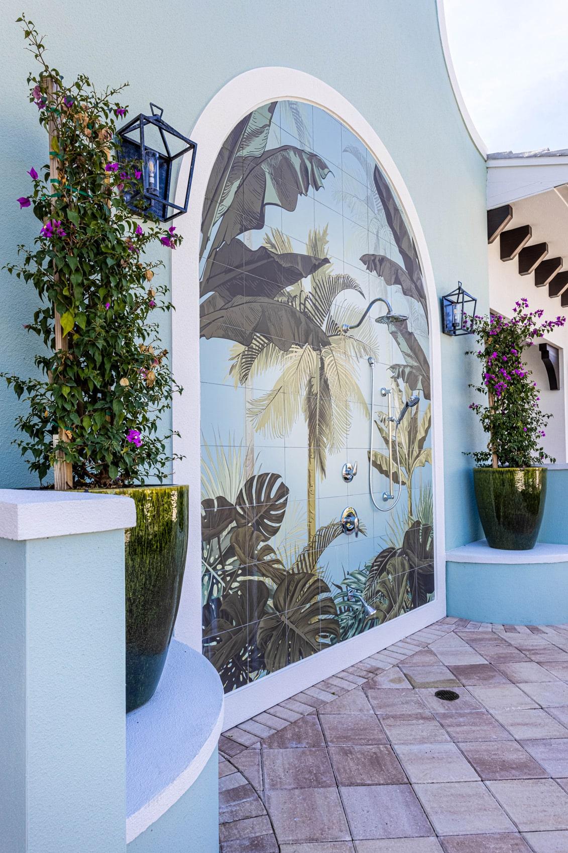Town Village Walk | Exterior Mural | Fort Myers, FL | Multifamily | Interior Designers
