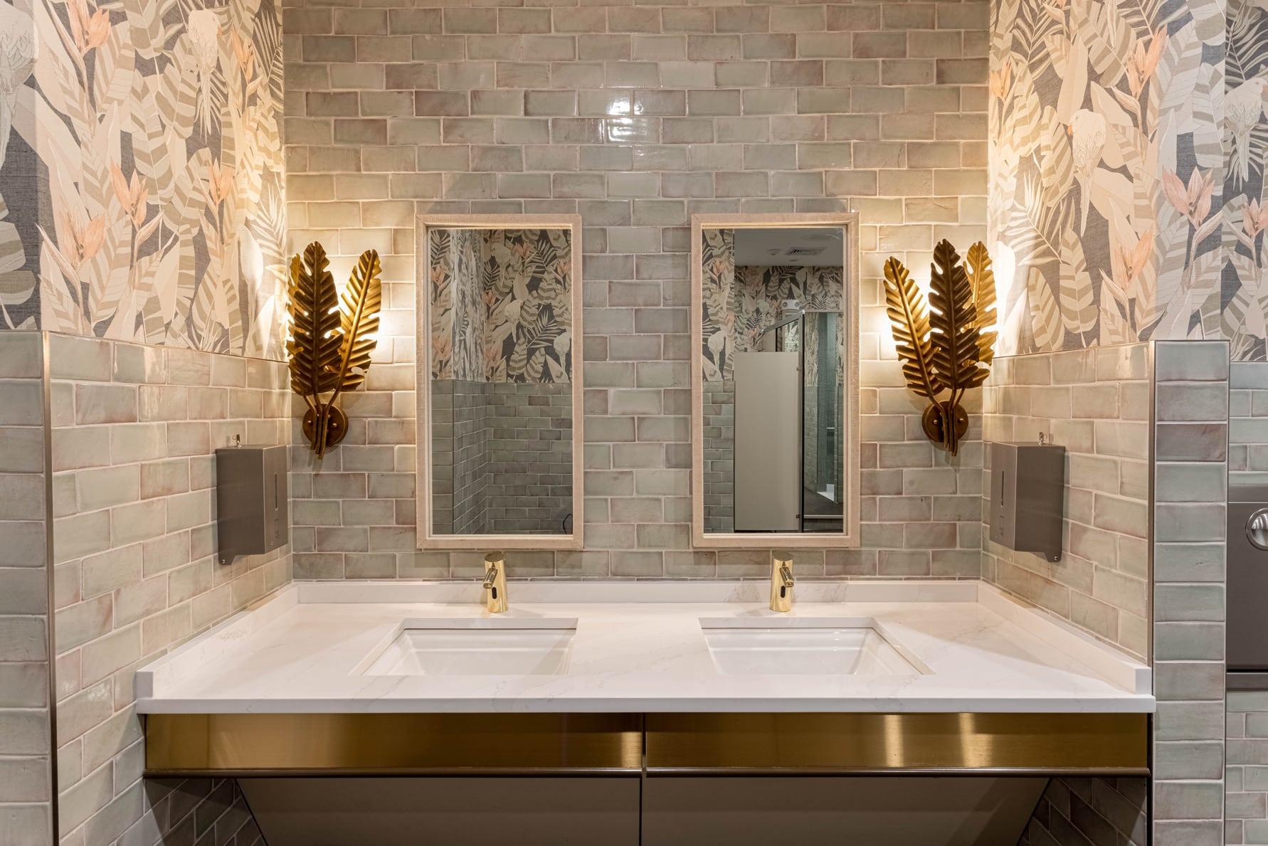 Town Village Walk | Bathroom 1 | Fort Myers, FL | Multifamily | Interior Designers