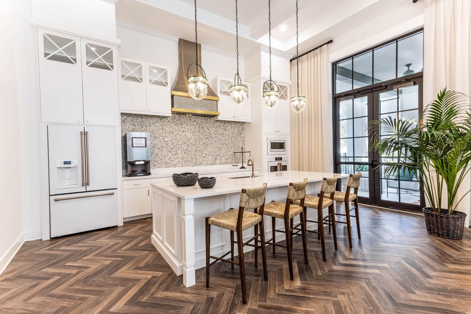 Town Village Walk | Kitchen | Fort Myers, FL | Multifamily | Interior Designers
