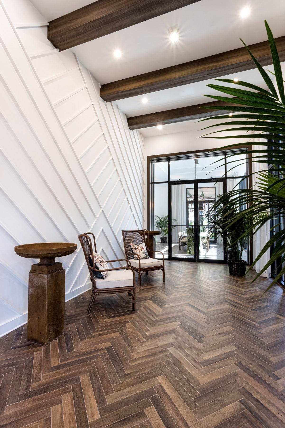 Town Village Walk | Lobby 2 | Fort Myers, FL | Multifamily | Interior Designers