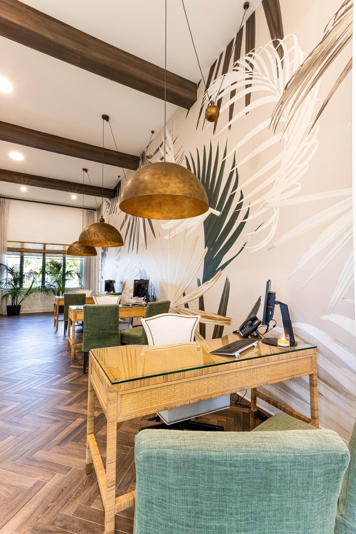 Town Village Walk | Lobby | Fort Myers, FL | Multifamily | Interior Designers