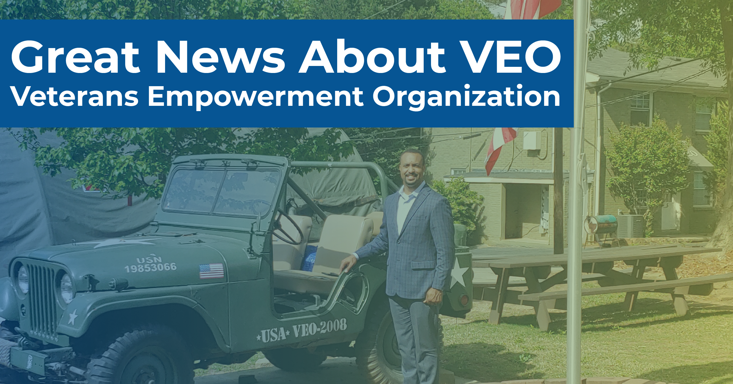 Great News About VEO – Veterans Empowerment Organization