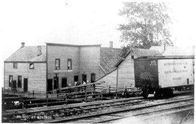 Mill Office at Monohon 1909