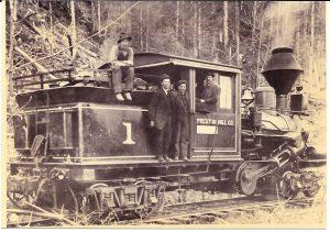 Preston Mill Locomotive