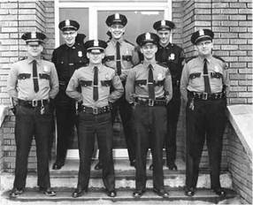 Issaquah Police Force, circa 1960s