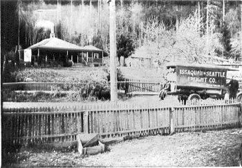 Freight truck circa 1920