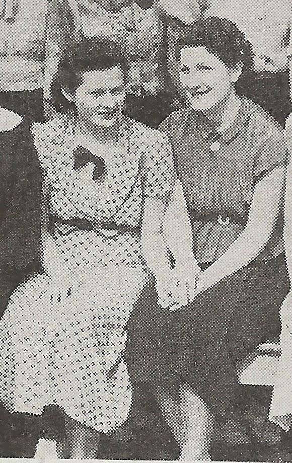 Hazel Hircko and Dorothy Hailstone Beale