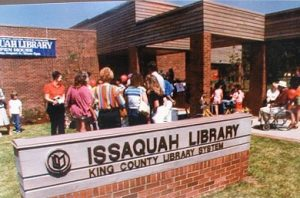 Issaquah Library, 1983