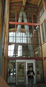 Issaquah library entrance