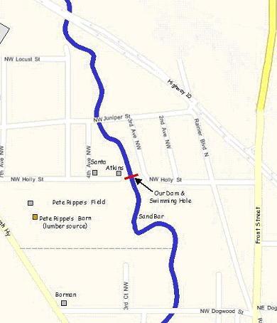 Swimming Hole Neighborhood Map