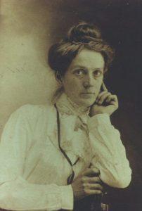 Bertha Wold Baxter, circa 1910