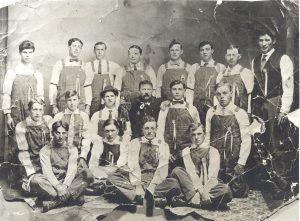 Issaquah's Volunteer Fire Department, circa 1912