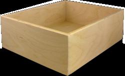 Burrows Cabinets' 9-ply Baltic birch drawer box