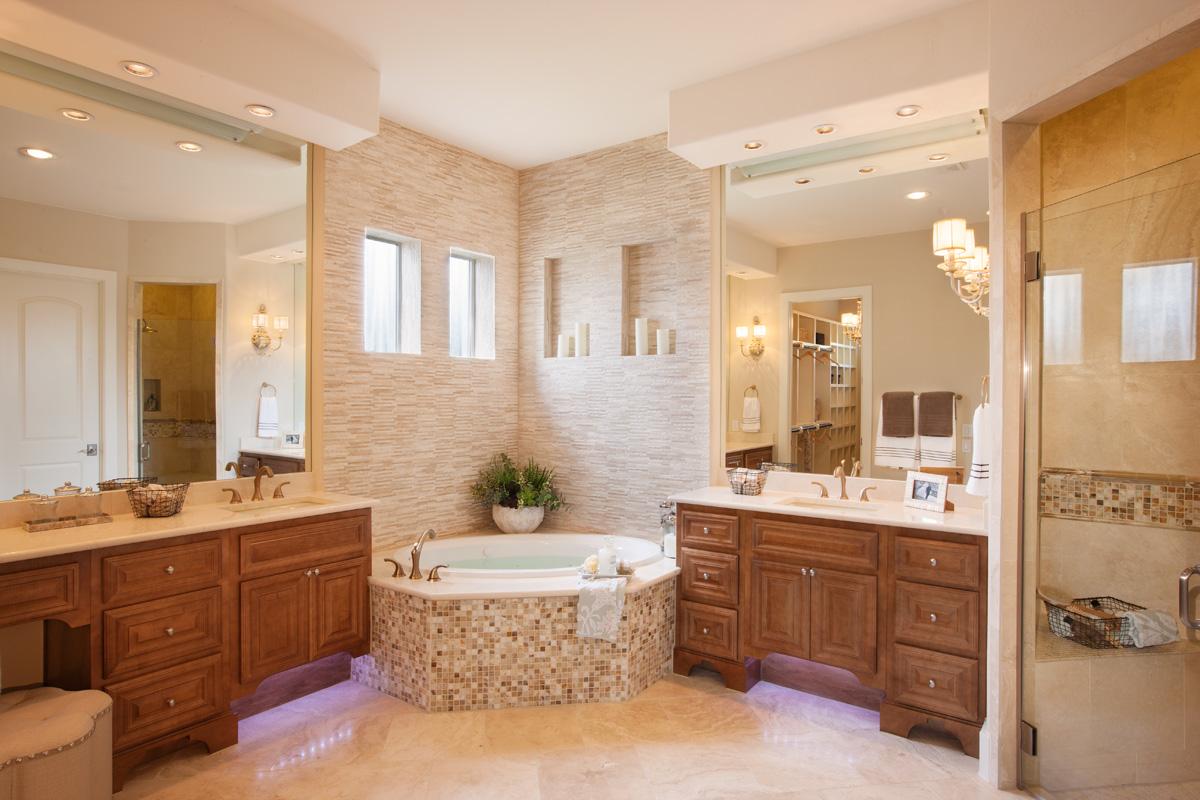 Burrows Cabinets master bath
