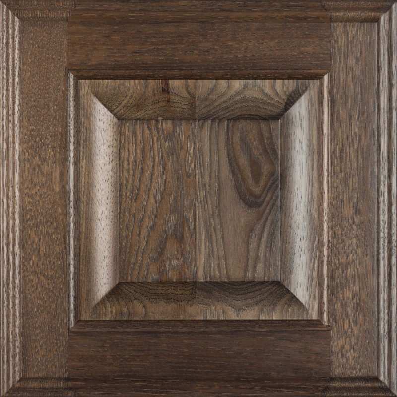 5-Piece Raised Panel in Hickory Driftwood