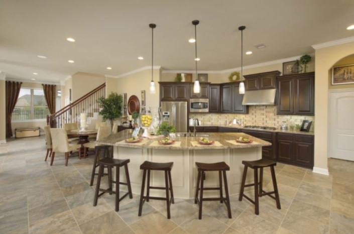 Burrows Cabinets' kitchen cabinets at Avalon