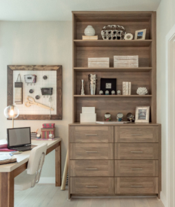 EVRGRN dresser and bookshelf with 3-piece doors