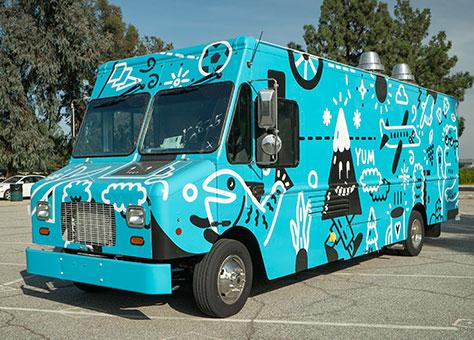 custom lunch trucks
