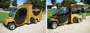 custom food cart