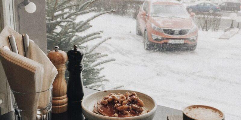 winter food truck