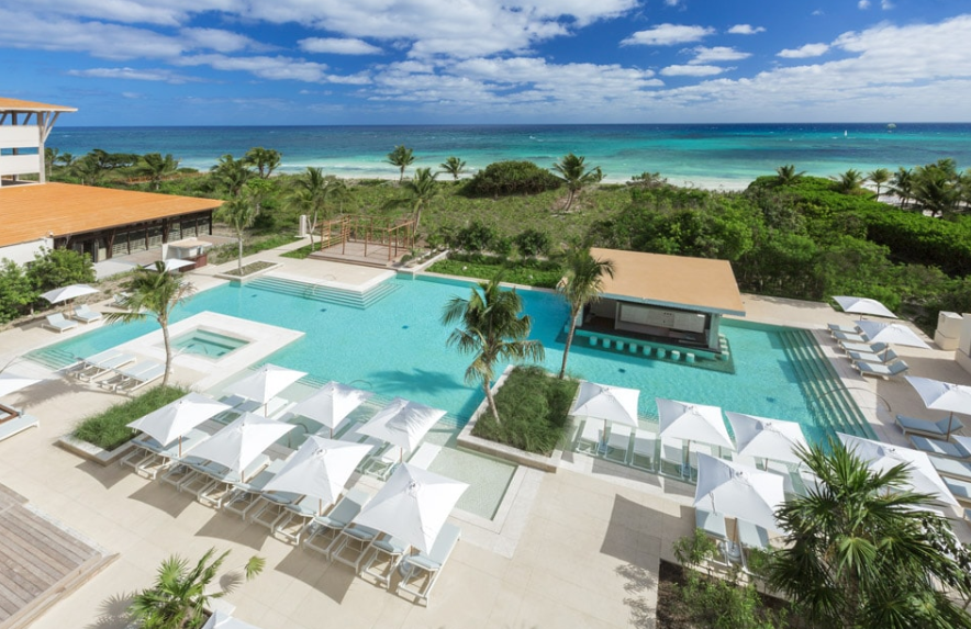 Resorts in Mexico's state of Quintanaroo are open for business
