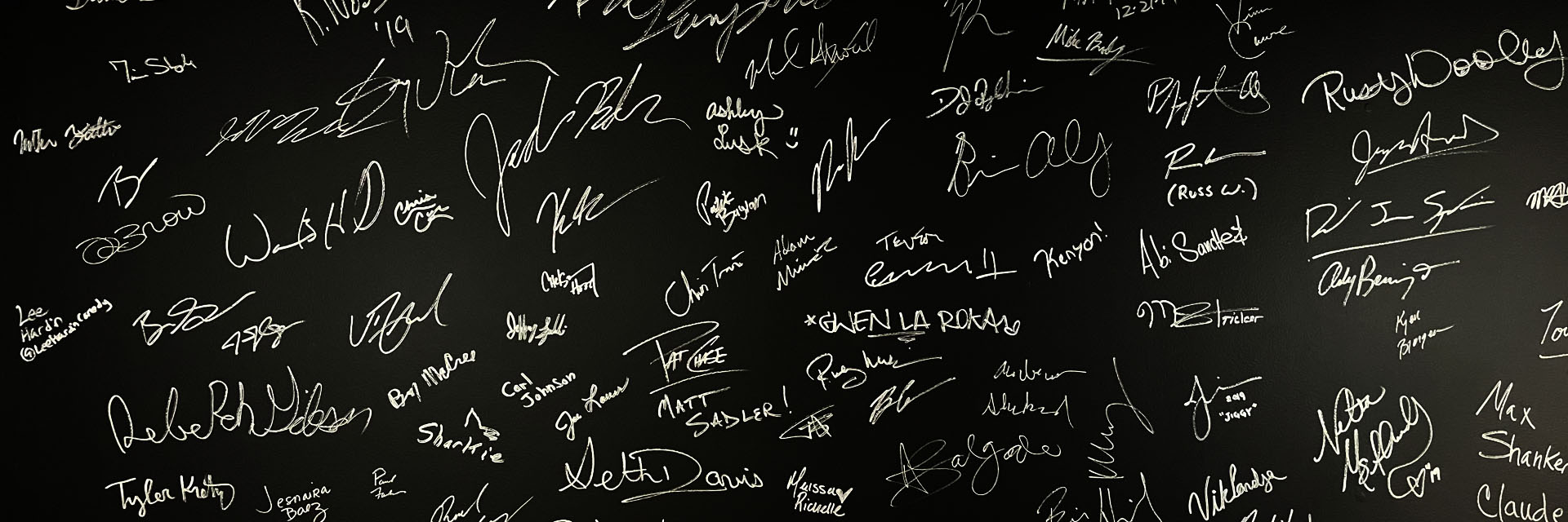 CG's wall of fame