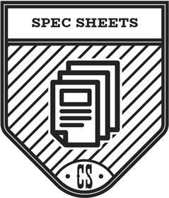 Spec Sheets Icon