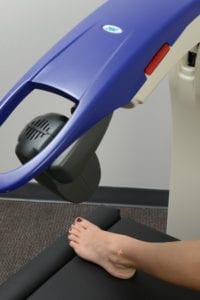 Cutting Edge MLS laser foot treatment