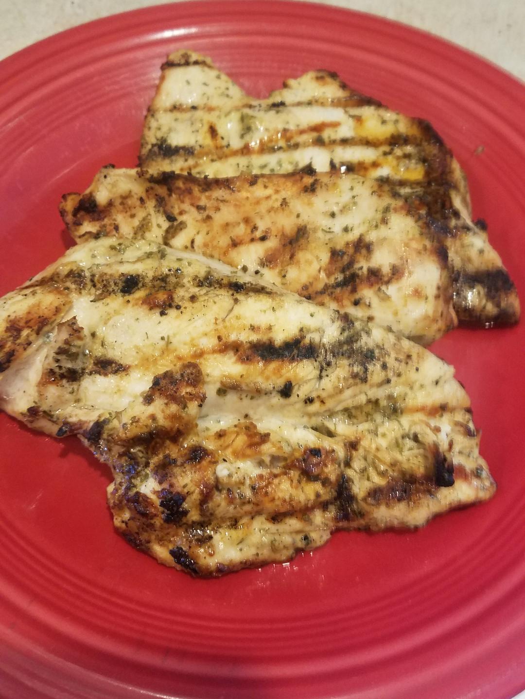 Summer BBQ'd Chicken & Homemade Ranch Dressing Mix by: Kristine Goodman