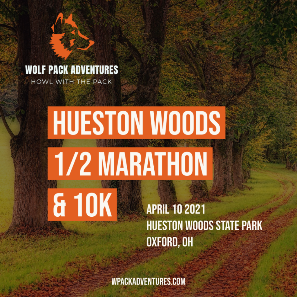 Hueston Woods 1/2 Marathon & 10K