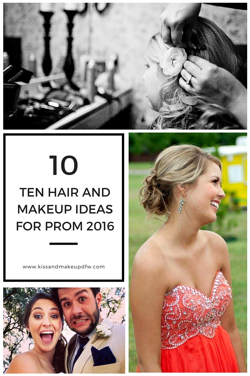Prom hair, prom makeup, prom 2016