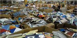 Trip to the Recycling Center Yielded $3,000 in Books